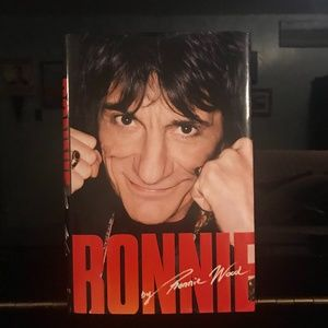 Book Ron Woods of the Rolling Stones